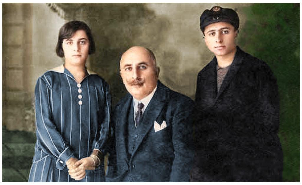 Sureya Bedirxan and his children
