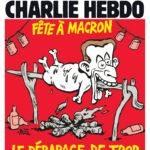 کاریکاتوری ماکرۆن لە شارلی هێبدۆ